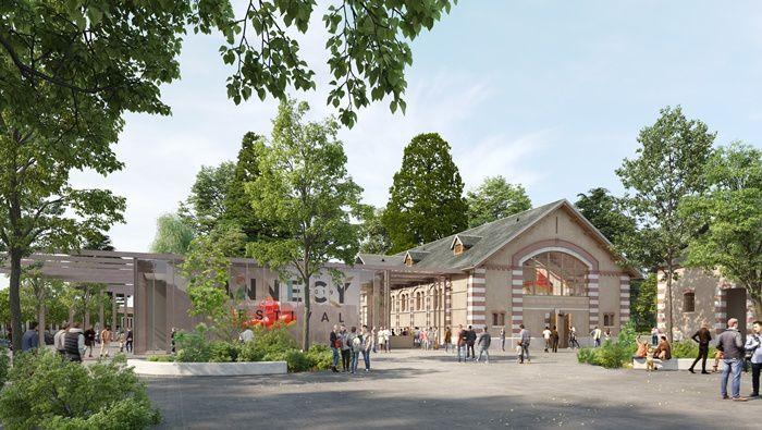 (c) CITIA - Ville d'Annecy pour le plan masse et (c) Devaux & Devaux pour les images 3D du projet Haras, 2019