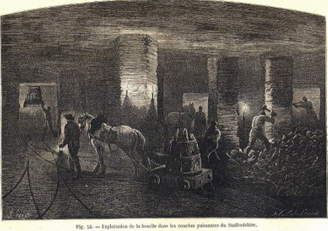 Chevaux de mine... 1860-1960