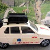 CITROEN VISA JEU TELEVISE CAP TERRE DE FEU NOEL MAMERE DIDIER REGNIER SOLIDO 1/43 - car-collector