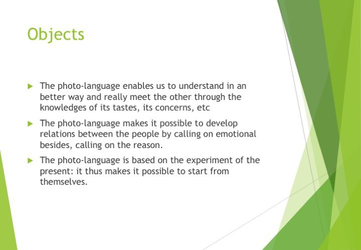 Communication Photolanguage