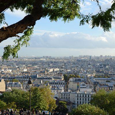 Montmartre – Paysage d'automne.
