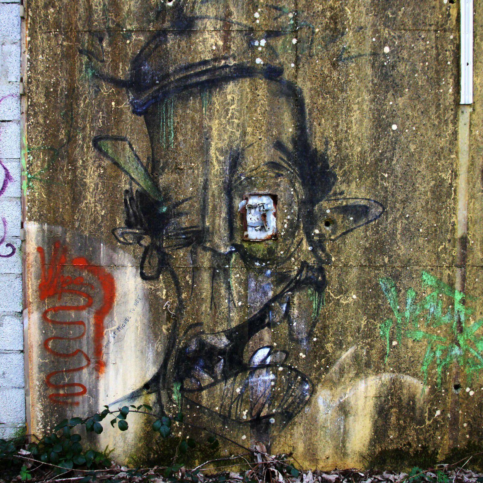 Graffiti à la Poudrière (2) - Mercredi 24 mars 2021