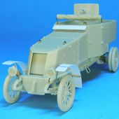 Maquette automitrailleuse Renault ED 1914