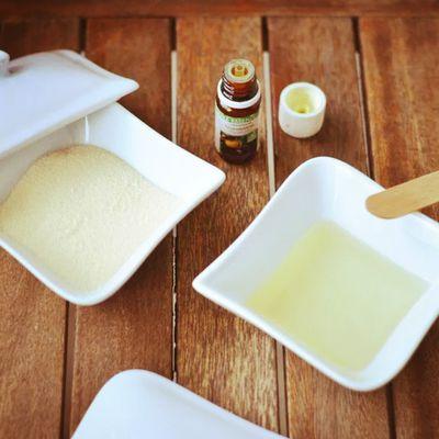 DIY Gommage délicieusement sucré à la vanille