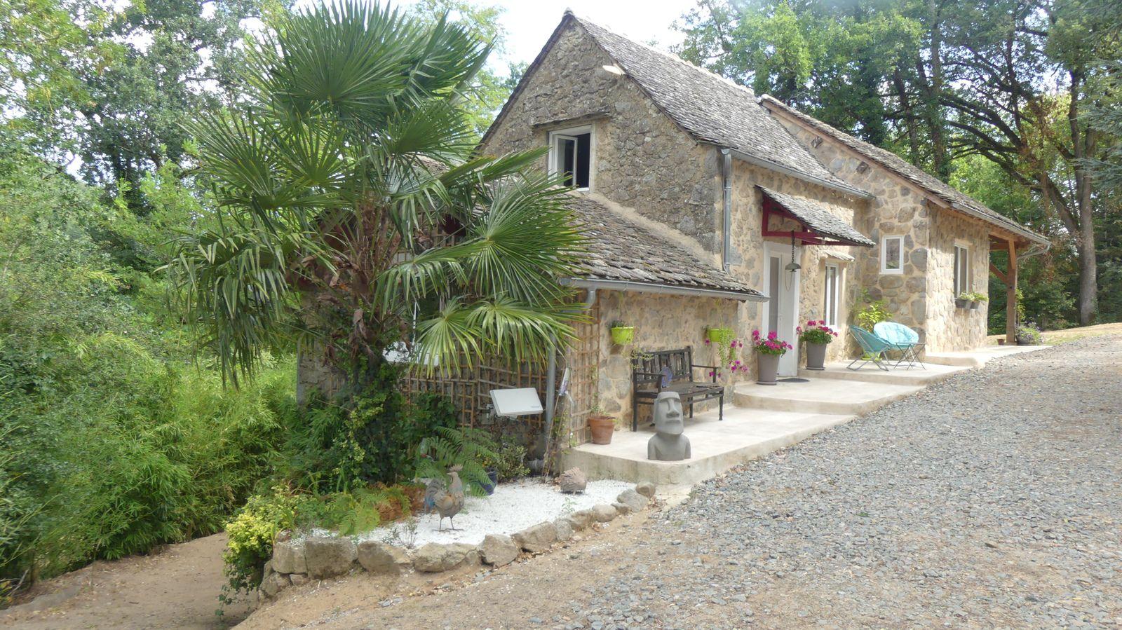 gîte isolé en Aveyron