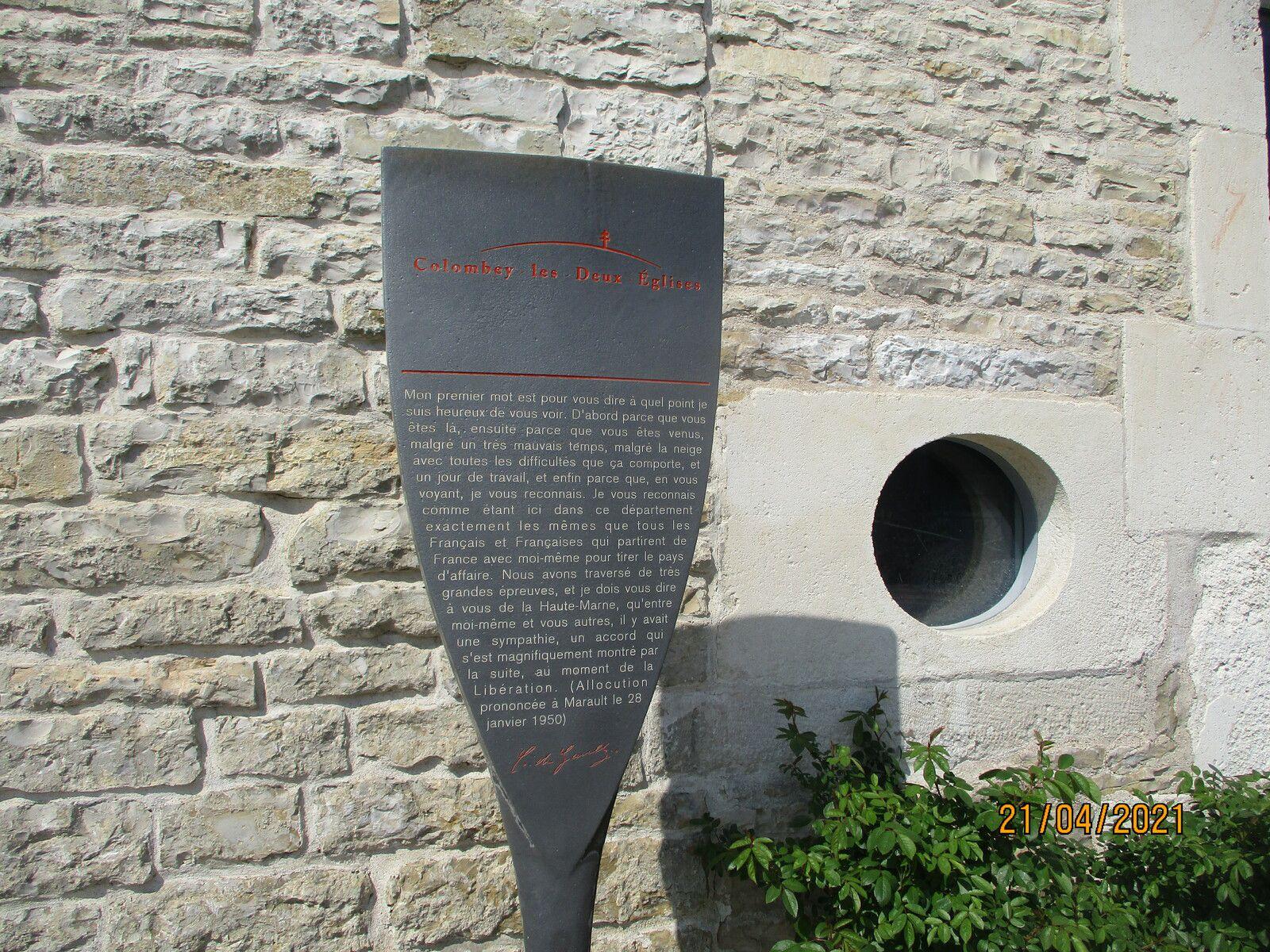 Colombey-Les-Deux-Eglises (Haute-Marne 52330)