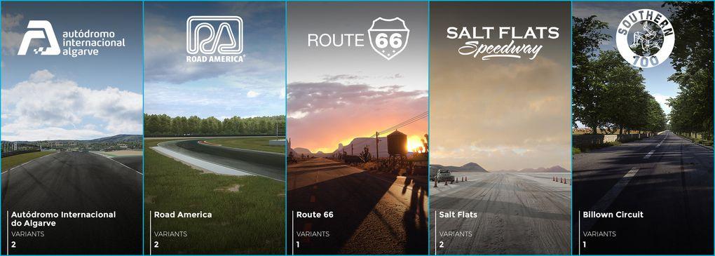 Les différents environnements du jeu