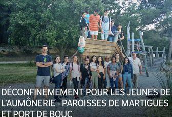 DÉCONFINEMEMENT POUR LES JEUNES DE L'AUMÔNERIE