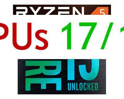CPU-Leistungssprung 2017 – weiterer Sprung 2018