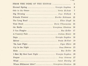 Penn Points n°2, Vol. XXIV, de juin 1949.