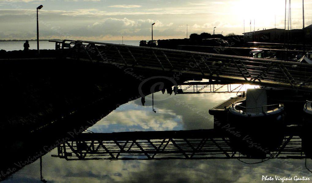 La Turballe - Des News - 07 - Balade sur le port au soleil couchant