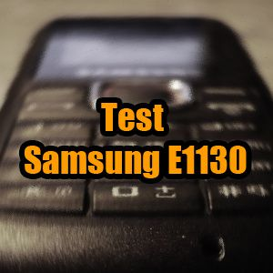 [Test] Le portable 'indestructible' Samsung E1130