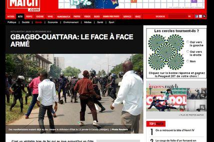 #Ya5ansàAbidjan / Paris Match, le choc des photos...d'il y a 11 mois !!! (#ProcèsGbagbo #DevoirDhistoire #CPI)