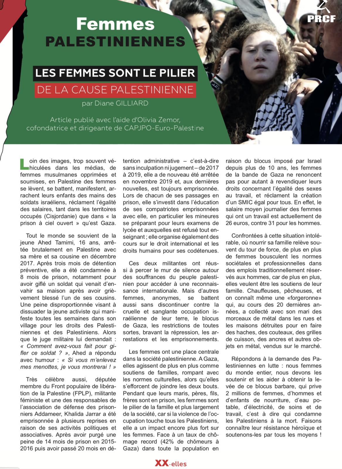 XX-elles n° 1, 8 mars 2021, par la Commission Femmes du Pôle de Renaissance Communiste en France (PRCF)