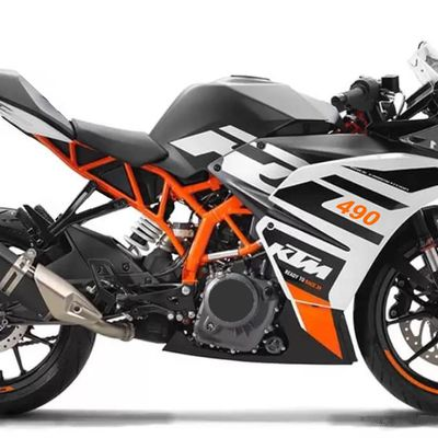 KTM RC 490 : confinement, con fini, Confucius