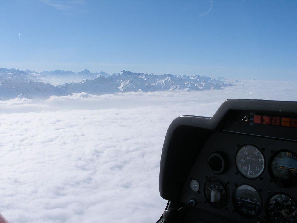 DR400 en route vers Cannes