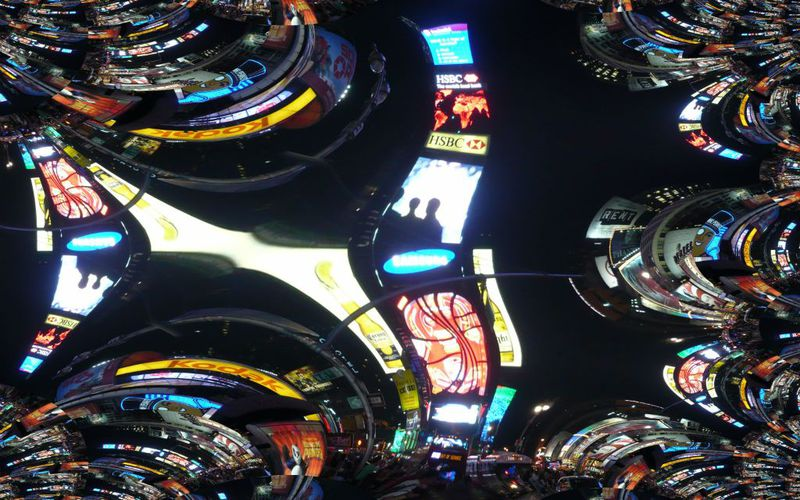 Galerie Times Square on Night
