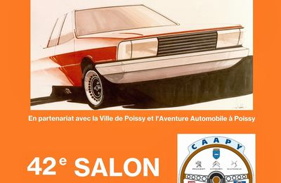 42ème Salon : 120 ans d'automobile à Poissy