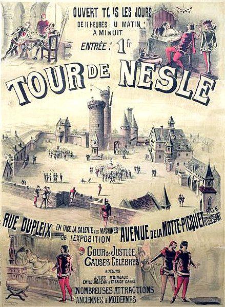 GENEALOGIE : L'AFFAIRE  DE  LA  TOUR  DE  NESLES.