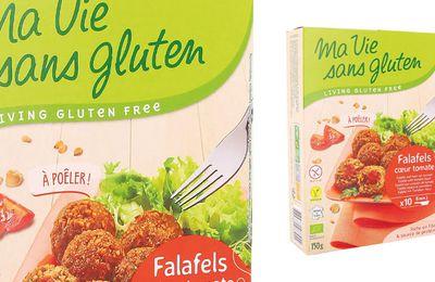 Rappel produit : Falafels cœur de tomates Bio 150g de marque Ma vie sans gluten