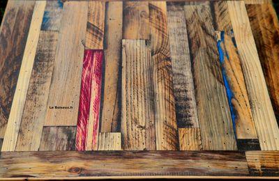 Plateaux de tables de restaurants, 60 x 60 cm