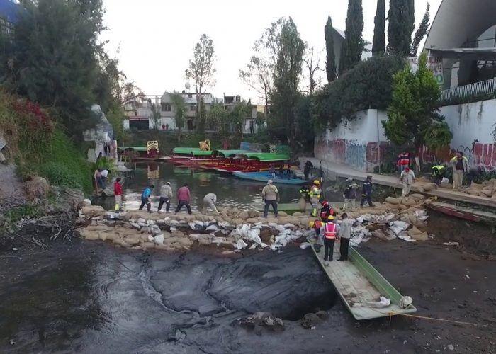 Imágenes tragedia por derrumbe en la Ciudad de México.- El Muni.