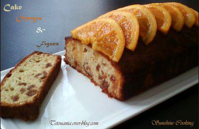 Cake à l'orange et aux Figues