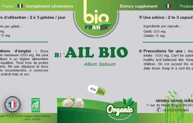 Étiquettes Bio France