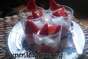 Recycler un reste de fraises...