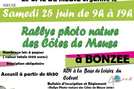 Bonzée-en-Woëvre (55) Rallye photo nature le 25 juin 2016