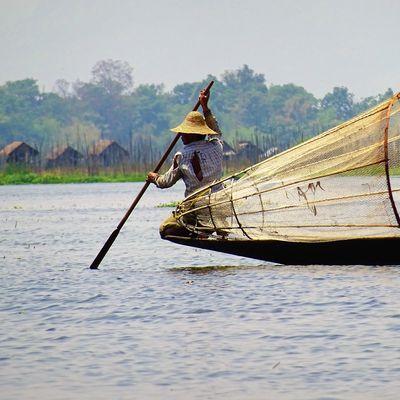 Les pêcheurs du lac Inlé
