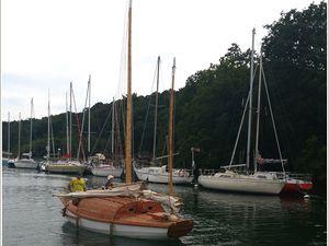 296 - Rencontres bateaux 18ème 2016-17  voiliers traditionnels, chaloupe MARIE-CLAUDINE, cotres DALC'H MAD, Général LECLERC, goélettes SWAENSBORGH, SANTA MARIA MANUELA, Lougres CORENTIN, PEEL-CASTEL, RIPPLE, ketch NORDLYS, LUN II, POPOFF, JLD'A, sampan LOUARN-RU, photos © GeoMar