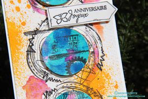 Carte Mixed-Media_Défi Inspiration#ScrapandCo