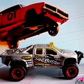 SANDBLASTER FORD F-150 4WD PICK-UP HOT WHEELS 1/64. - car-collector.net
