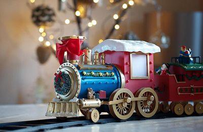 Train - Locomotive - Décoration - Noël - Wallpaper - Free