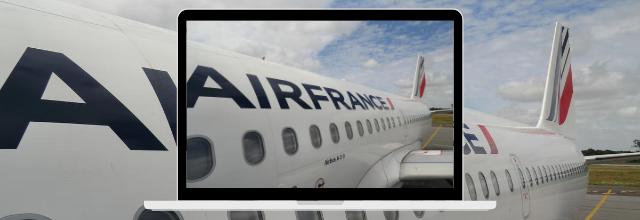 Des vols à petits prix au départ de Toulouse avec Air France