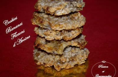 Cookies Bananes Flocons d'Avoine