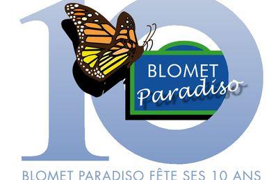BLOMET PARADISO fête ses 10 ANS - Samedi 21 septembre 2013