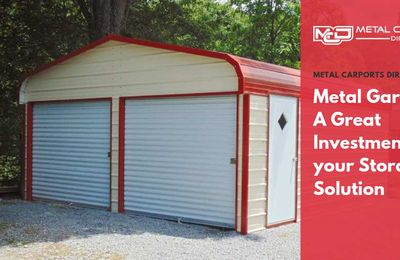 Metal Garages: A Great Investment for your Storage Solution
