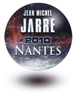 Jarre en concert à Nantes le 18 mars 2010