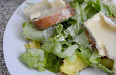 Toasts Chauds au Camembert