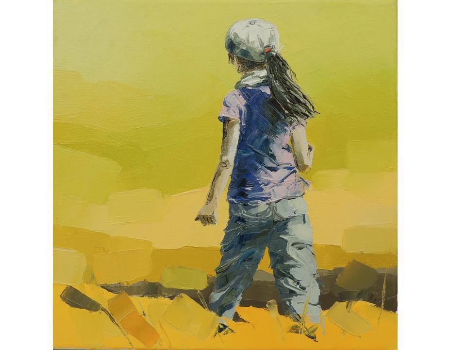 Gisele Ceccarelli expose à l'Atelier d'Encadrement en Septembre