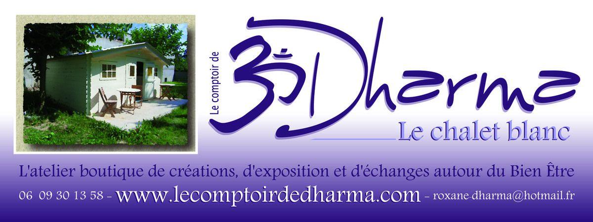 Le Chalet Blanc, la boutique du Comptoir de Dharma