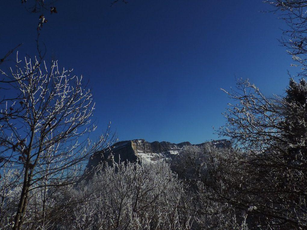 Randonnée raquette ADAPAR du Col du Granier au Mont Joigny le 09.02.18