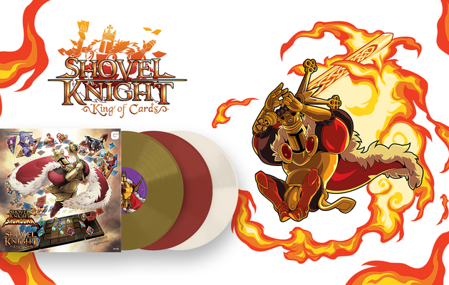 [ACTUALITE] Shovel Knight King of Cards - La bande-son arrive au format triple vinyle