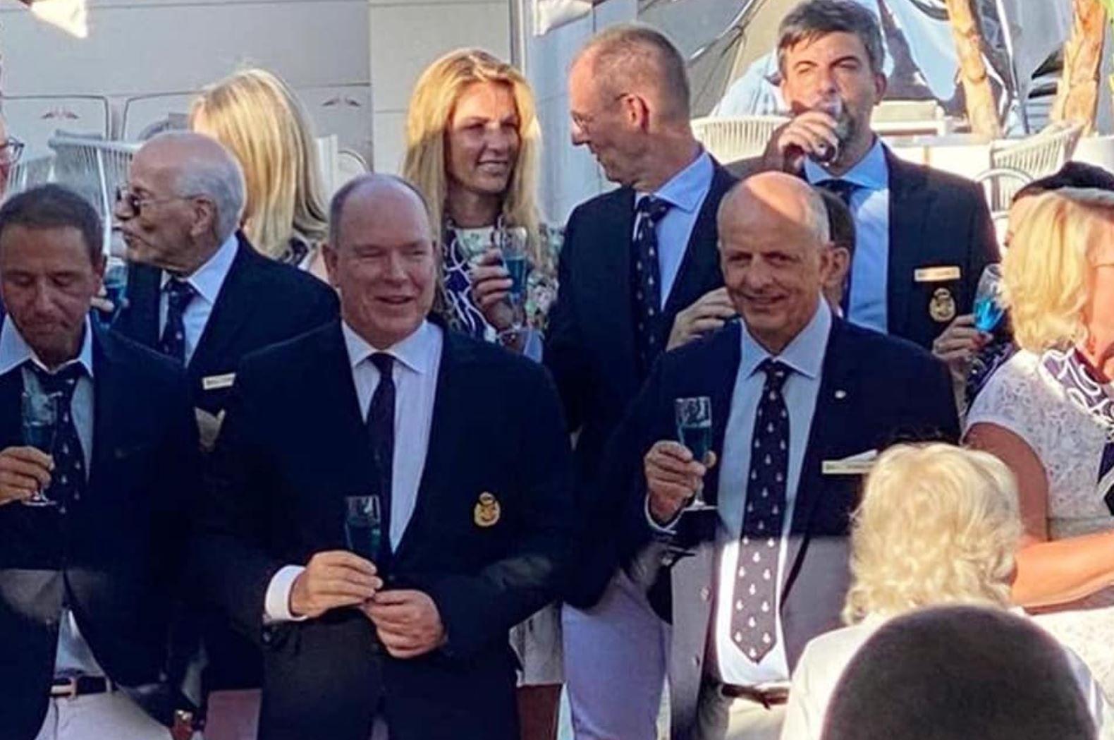 Francis Lapp (Sunreef Yachts), neues Mitglied im Yacht Club de Monaco