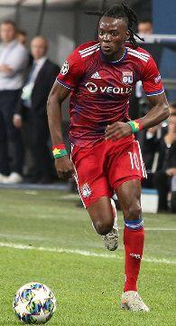 Une photo du footballeur Bertrand Traoré