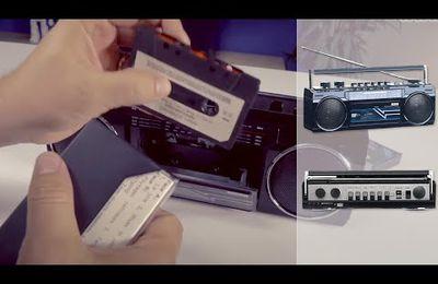Le radio cassette vintage du futur :D