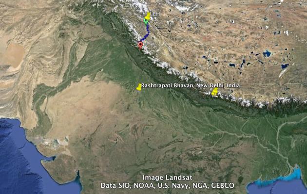 Leh, Manali, McLeo Ganj...Amritsar