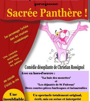 """SARDON - Soirée théâtre """"Sacrée Panthère !"""" - samedi 7 février 20h30"""